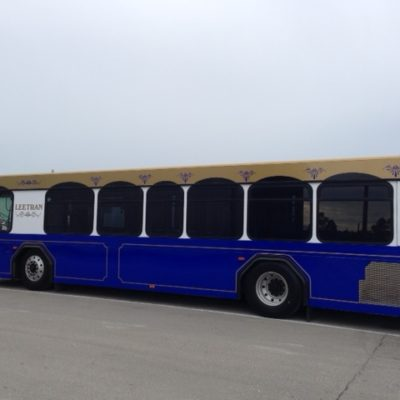 LeeTran Buss -Trolley Design and Wrap