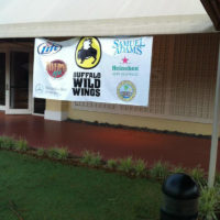 Buffalo Wild Wings -Golf Banner