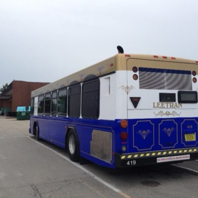 LeeTran Bus -Trolley Design Wrap