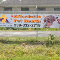 Outdoor Fence Banner