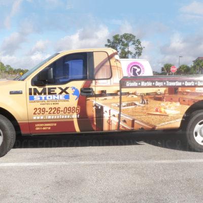 Imex Stone -Pickup Truck Wrap