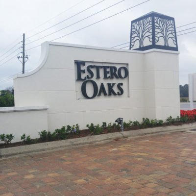 ESTERO OAKS THREE OAKS PARKWAY